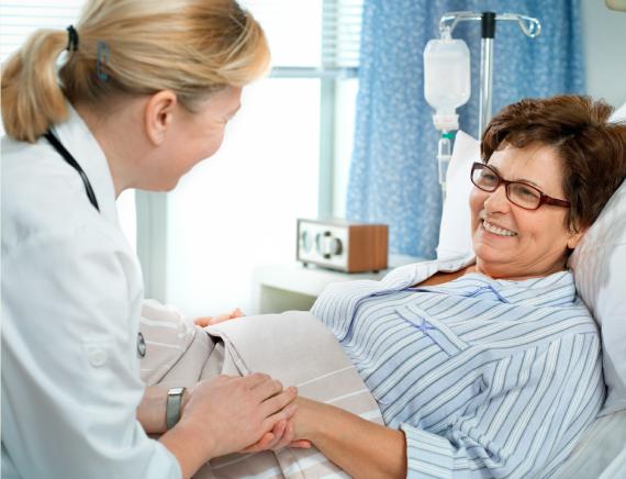 Sanispaces in hospitals